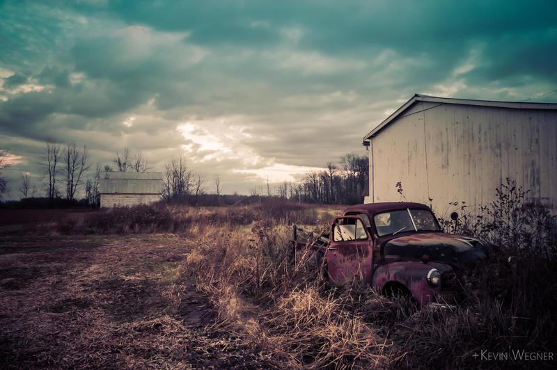 Abandoned Treasure by KevinWegner