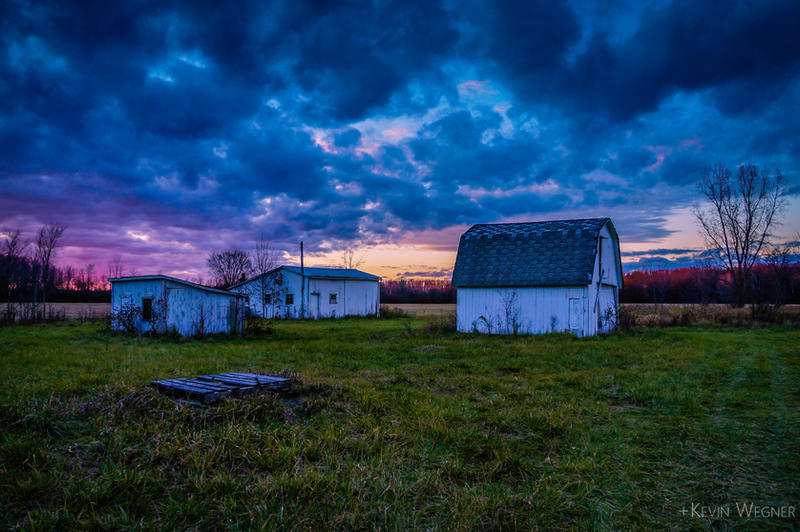 An Evening of Barns by KevinWegner