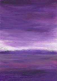 Purple Abstract by Artman225