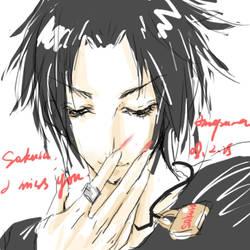 sasuke by annapurnawang