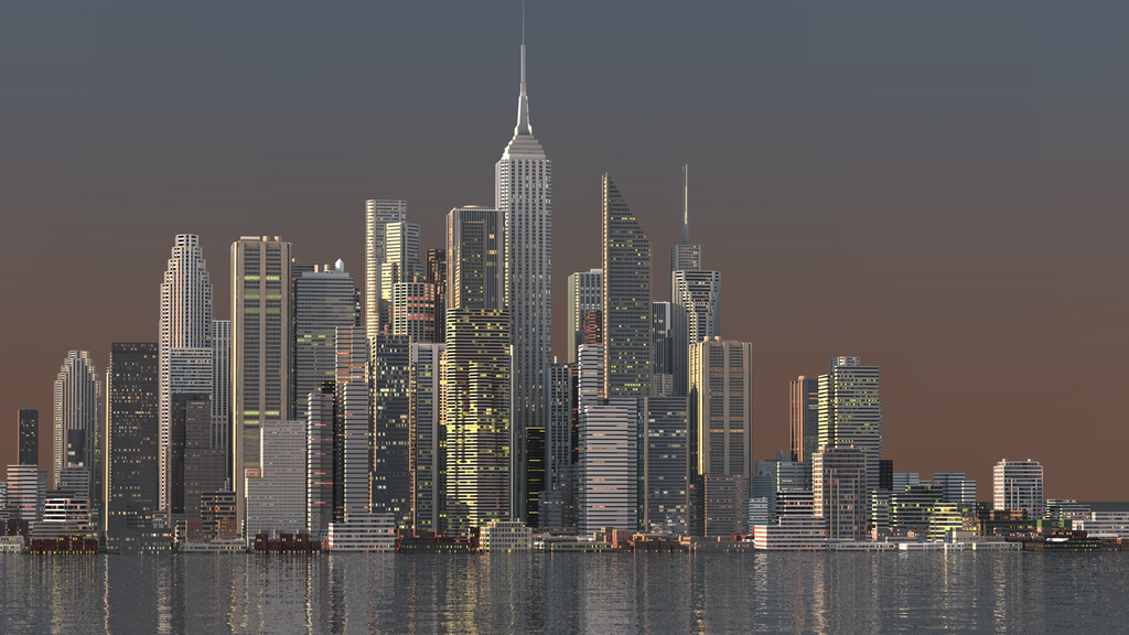 [3D render] City by GraphAndStyle