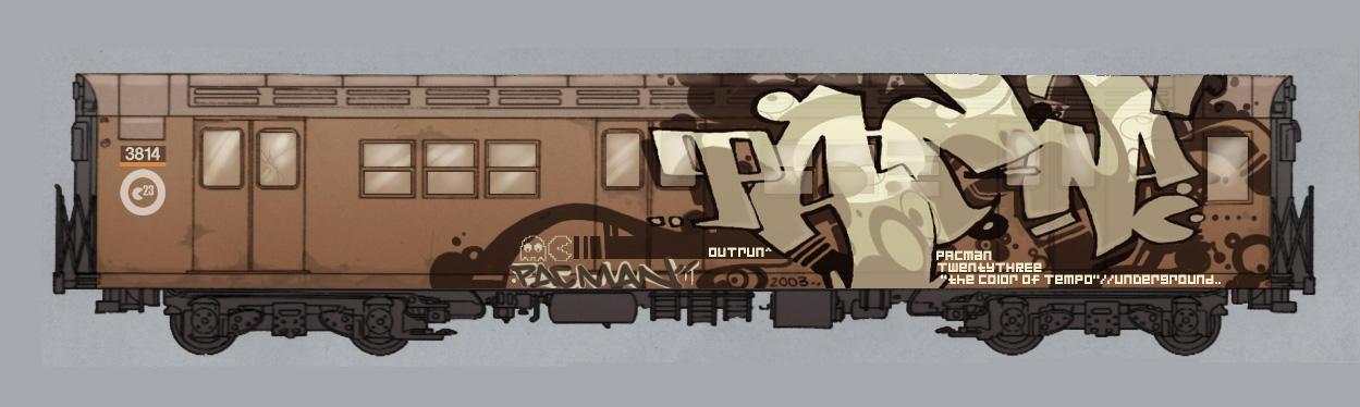 oO Tha Train Oo by pacman23