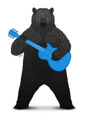 Axe Bear by pacman23