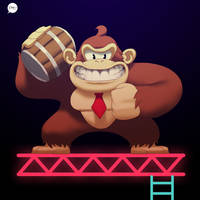 DDF 17 - Donkey Kong by pacman23