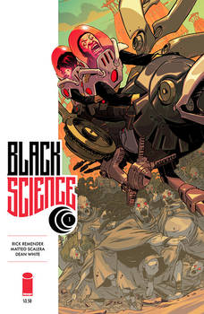 Black Science Cover Colors