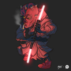 Darth Maul by pacman23