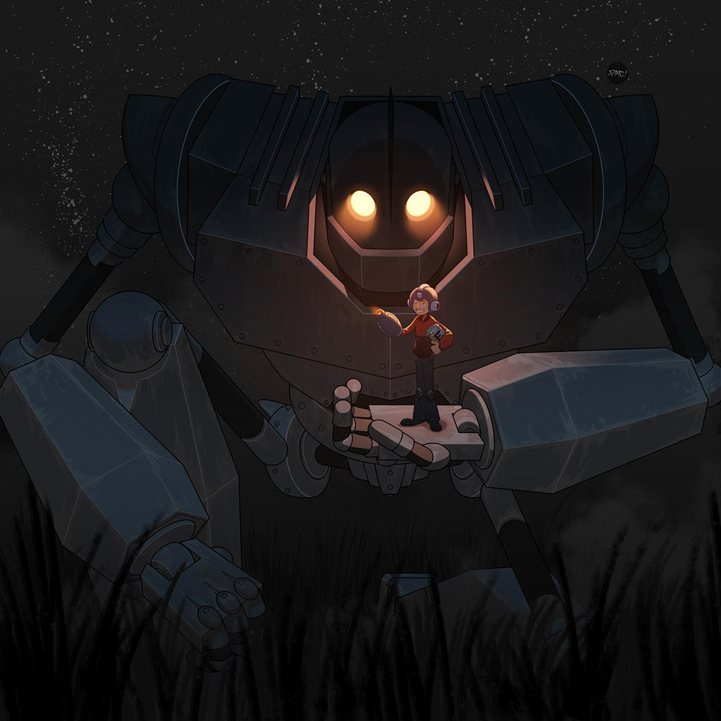 iron giant by pacman23 on deviantart