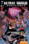 Batman TMNT Adventures Cover colors