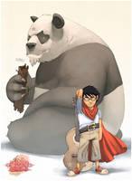 oO Panda kid Oo by pacman23