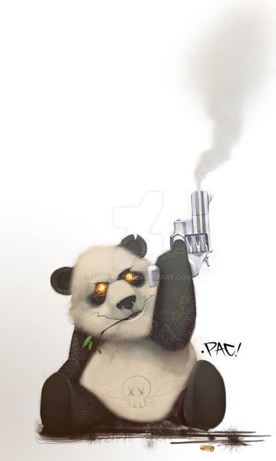 oO SR Panda Two Oo by pacman23