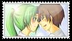 Keiichi x Mion Stamp