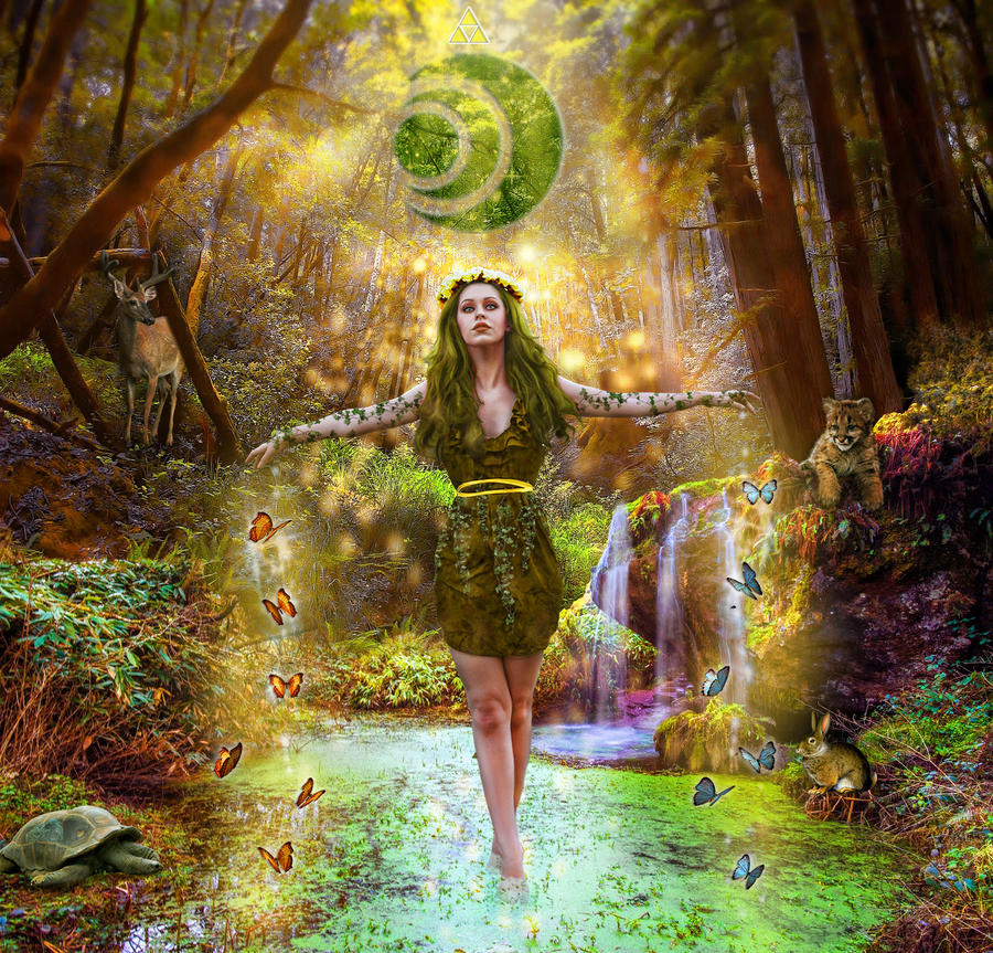 Farore : Goddess of Courage by sugar-venom