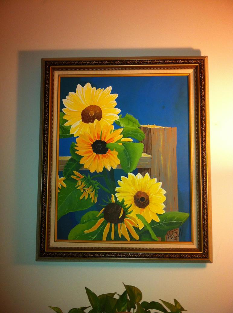 Sunflowers by nnnicholodeon