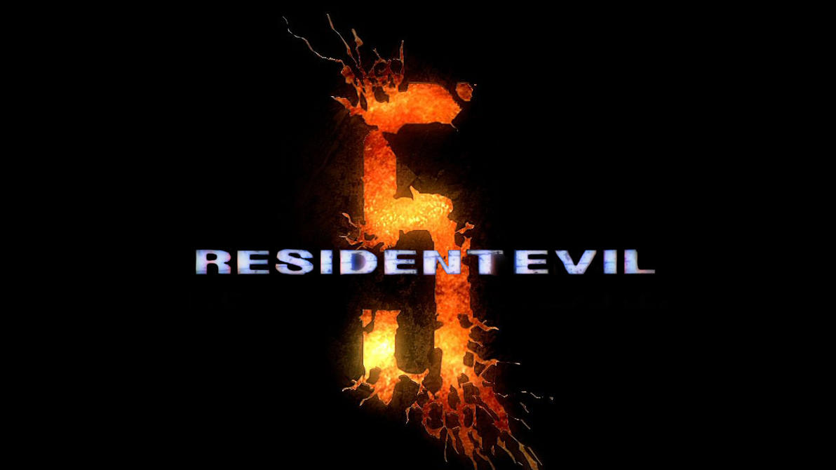 Resident Evil 5 old logo by WeskerAlbert on DeviantArt