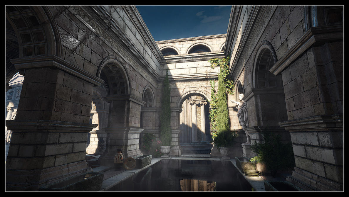 Ryse - Son of Rome - Roman bath 3 by MadMaximus83