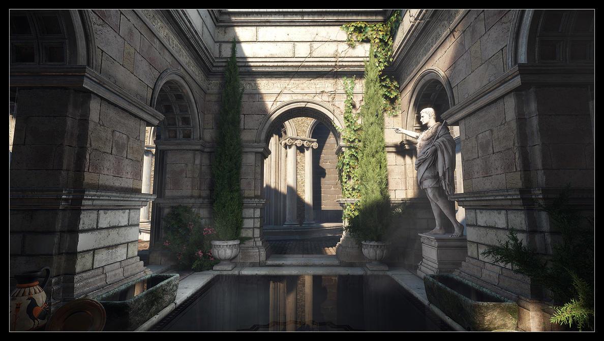 Ryse - Son of Rome - Roman bath 2 by MadMaximus83