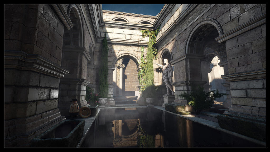 Ryse - Son of Rome - Roman bath 1 by MadMaximus83