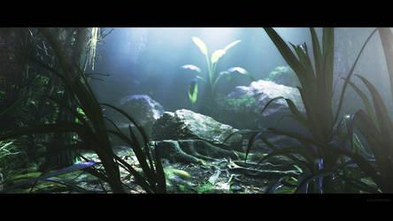CryEngine V - Volume Light Test Scene 01