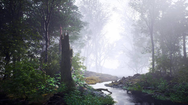 Unreal Engine 4 :: Forest Study #1 :: Image 01