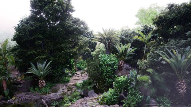 Unreal Engine 4 :: Jungle Study #1 :: Image 11