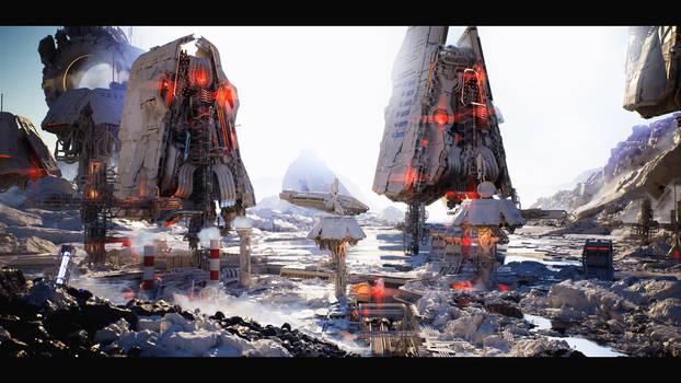 Unreal Engine 4 :: Sci-Fi Base #1 :: Image 01