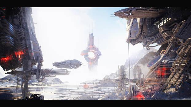 Unreal Engine 4 :: Sci-Fi Base #1 :: Image 02