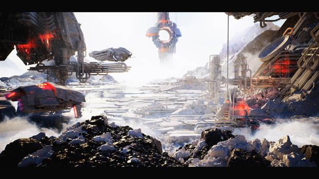Unreal Engine 4 :: Sci-Fi Base #1 :: Image 03