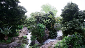 Unreal Engine 4 :: Jungle Study #1 :: Image 01