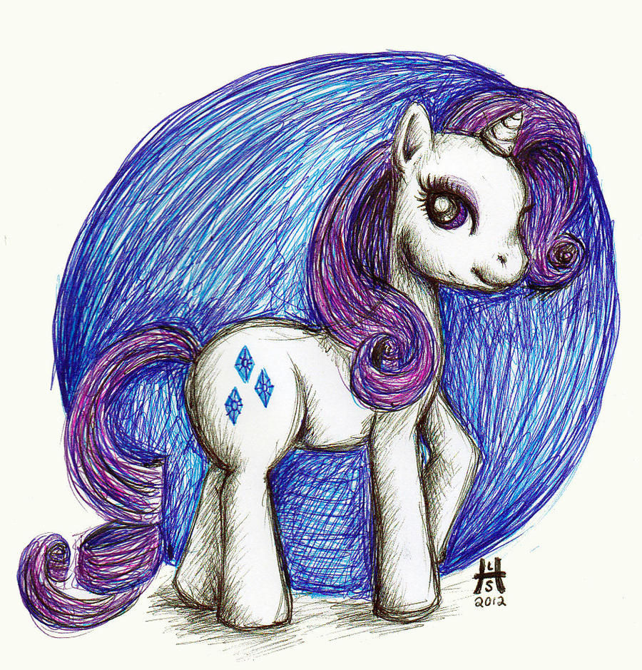 Rarity by CandyAppleCat