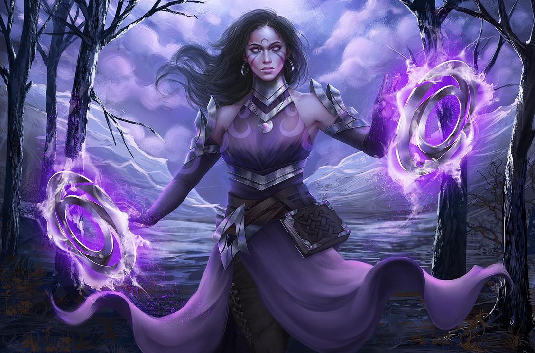 dark_witch by ShuriCat