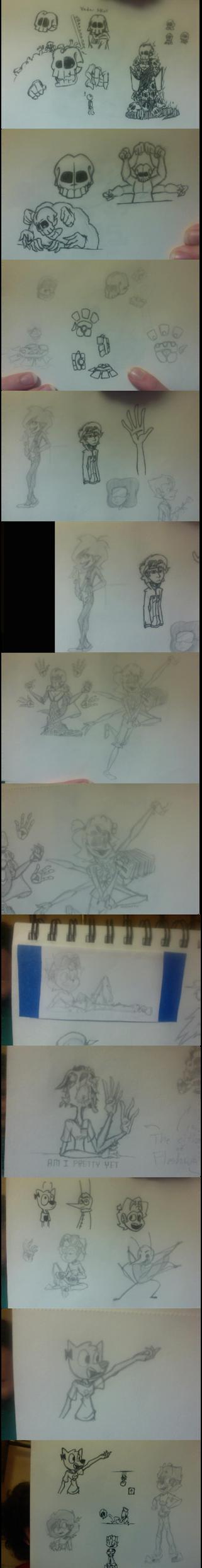 Moar Sketchbook by ToonsByJess