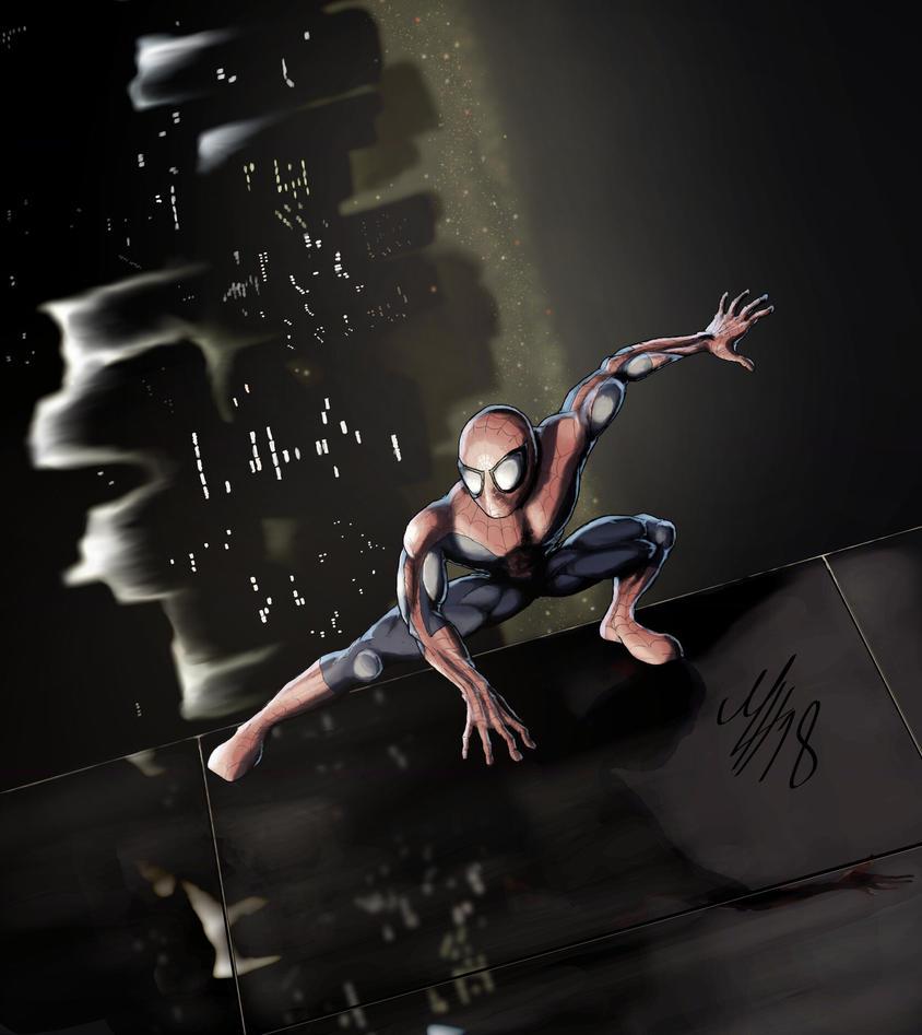 Spider-Man by JJGee