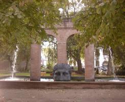 Roman Fountain II by SeraphimStock