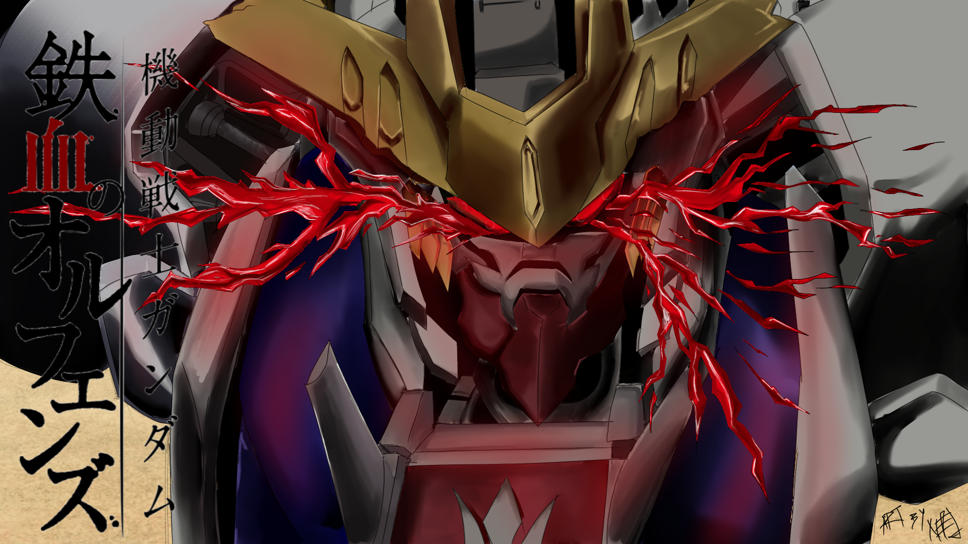Barbatos Lupus Rex Berserk Mode By Nejcyborg On Deviantart