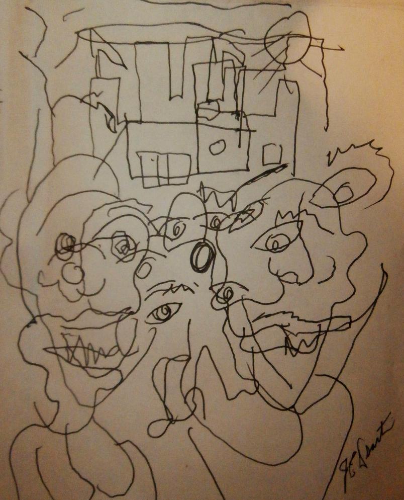 Castle of Few Blindfold art by jedsart