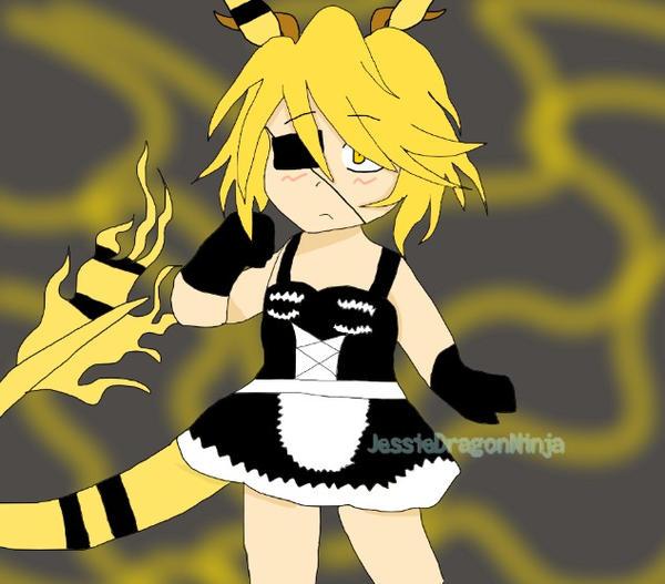 Best maid Kimimare | OC by JessieDragonNinja