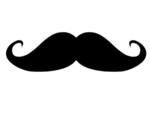 Moustache PNG Para tuto by PauEdiitions