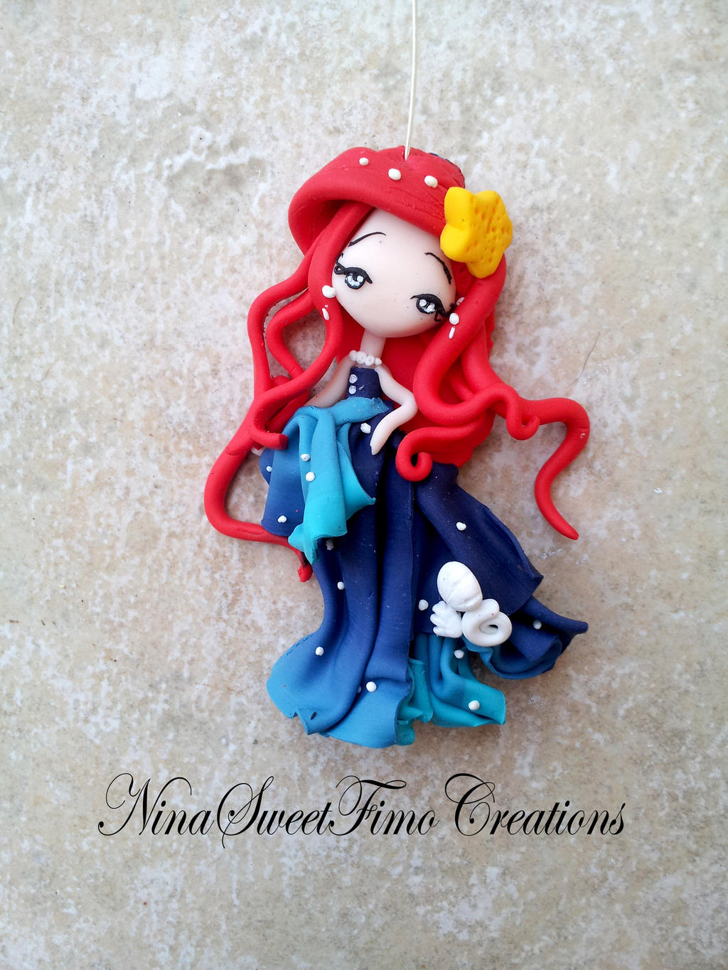 Ariel reinvented by me by NinaFimoCreations