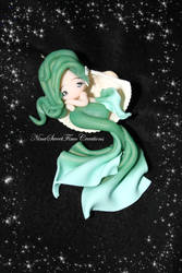 sleeping mermaid by NinaFimoCreations