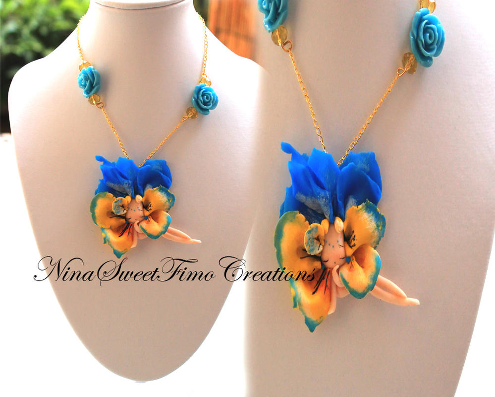flower by NinaFimoCreations