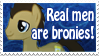 Real Men are Bronies by GingerFoxy