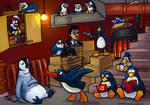 Mr. Cobblepot's Penguins