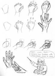 Raz - Hand Tutorial by Raz-Xion