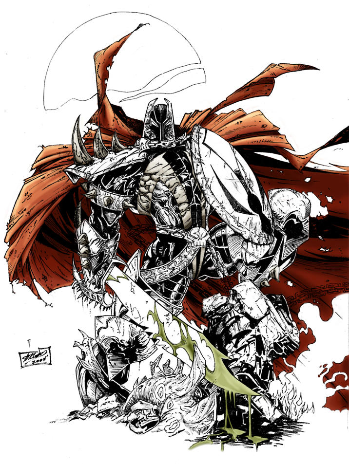 Redguard 39 s spawn coloringwip by raz xion on deviantart for Spawn coloring pages
