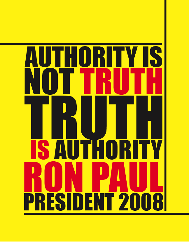 Ron Paul is Truth by waterostrich