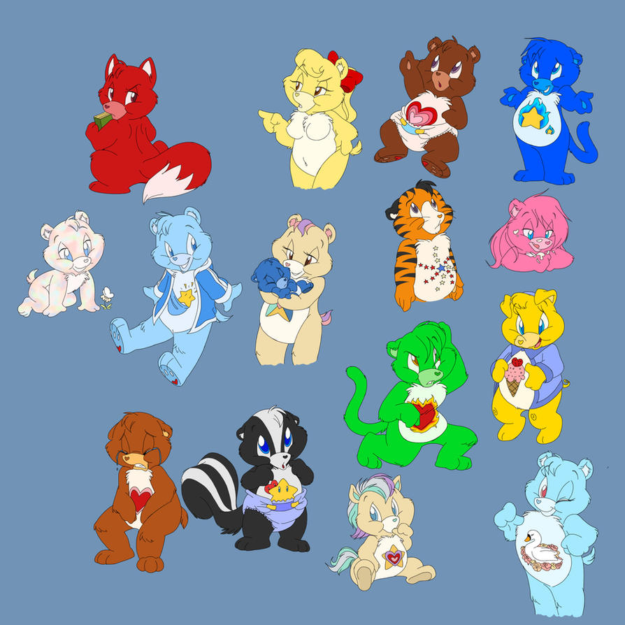 Care Bears Galore by ThisCrispyKat on DeviantArt - photo#24