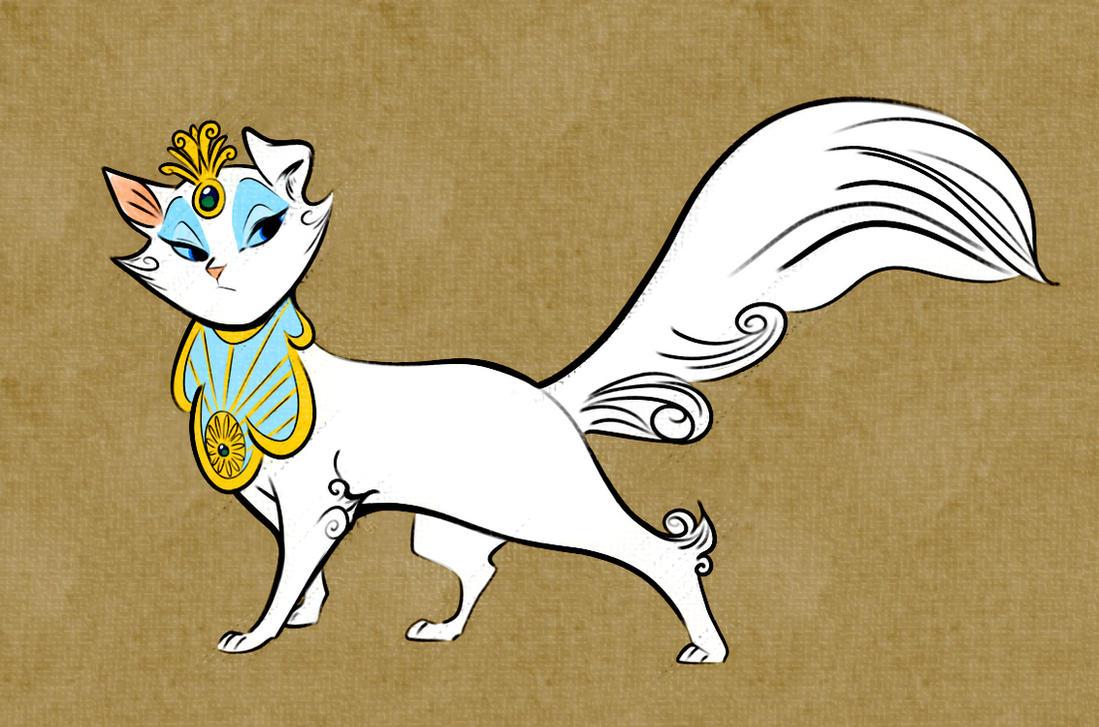 Sheegwa the Chinese Siamese Cat by ThisCrispyKat