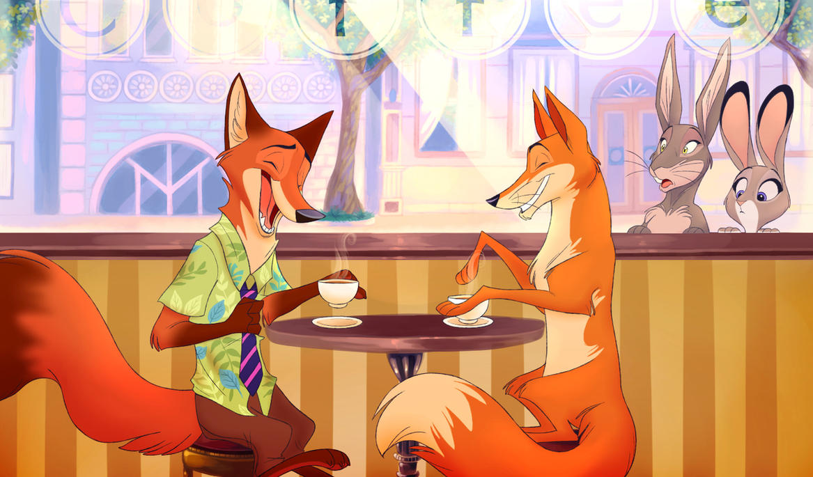 Zootopia-Farthingwood Crossover by ThisCrispyKat