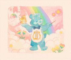 Heartsong Bear by ThisCrispyKat