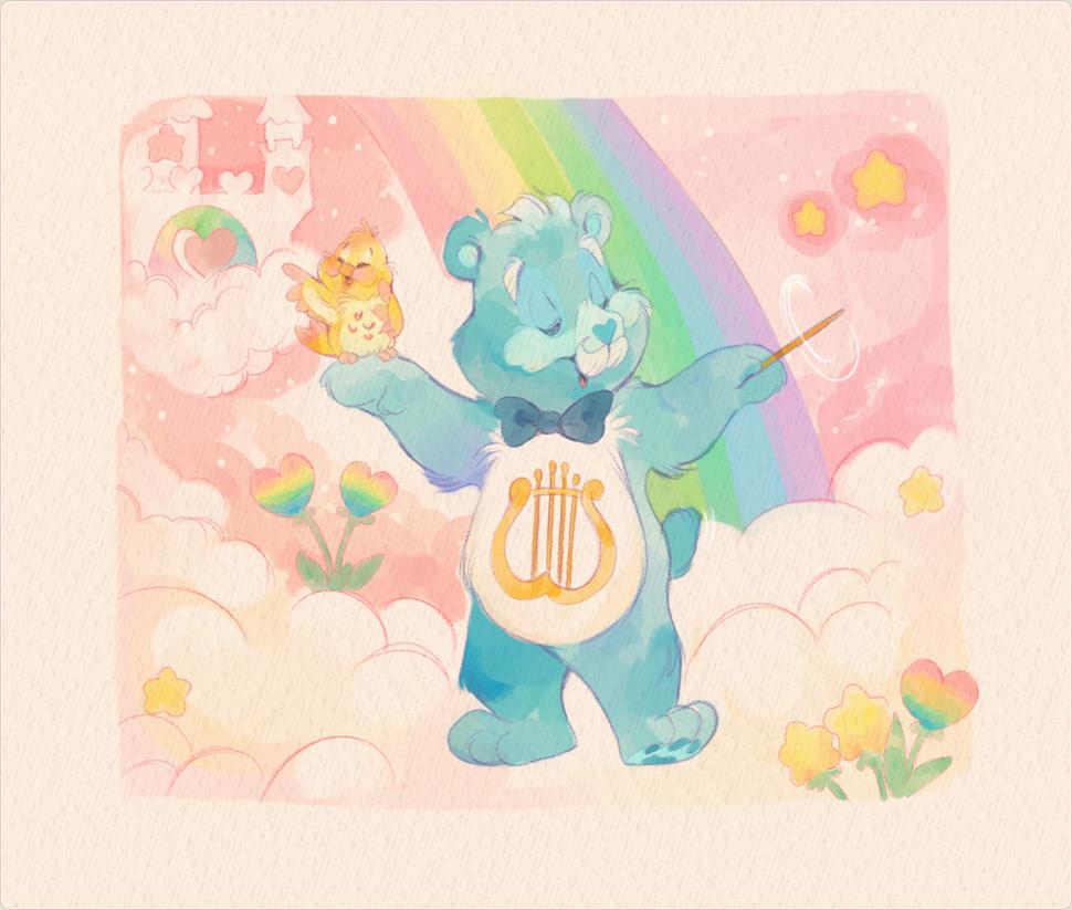 heartsong bear by thiscrispykat on deviantart